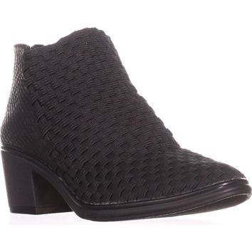 STEVEN Steve Madden Penga Stretch Ankle Booties, Black Multi, 5 US