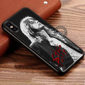 STEVE PERRY CLASSIC ROCK iPhone X 8 7 Plus 6s Cases Samsung Galaxy S8 Plus S7 edge NOTE 8 Covers #iphoneX #SamsungS8