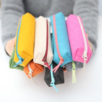 Colorful Felt Pencil Case