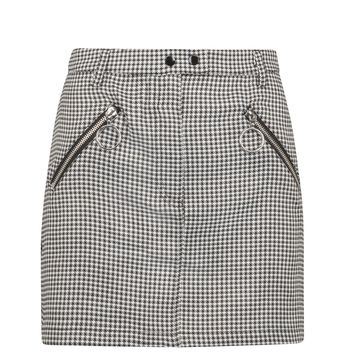 One Way or Another Houndstooth Mini Skirt