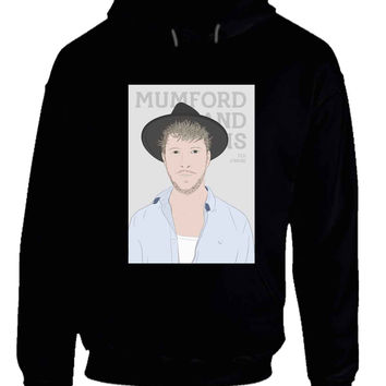 Mumford And Sons Ted Dwane Vektorize Hoodie