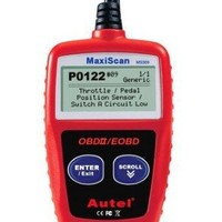 Autel MaxiScan MS309 CAN Diagnostic Scan Tool Code Reader for OBDII Vehicles
