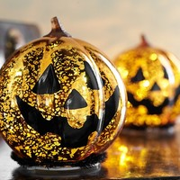 Light Up Mercury Decor Pumpkin | Pottery Barn Kids