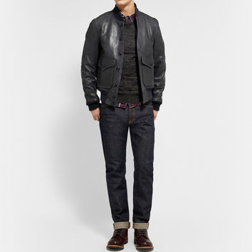 Schott - Perfecto A-1 Leather Flight Jacket | MR PORTER
