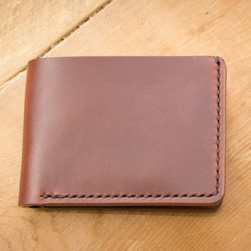 Tan Traditional Leather Wallet