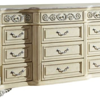Sienna Antique White Dresser