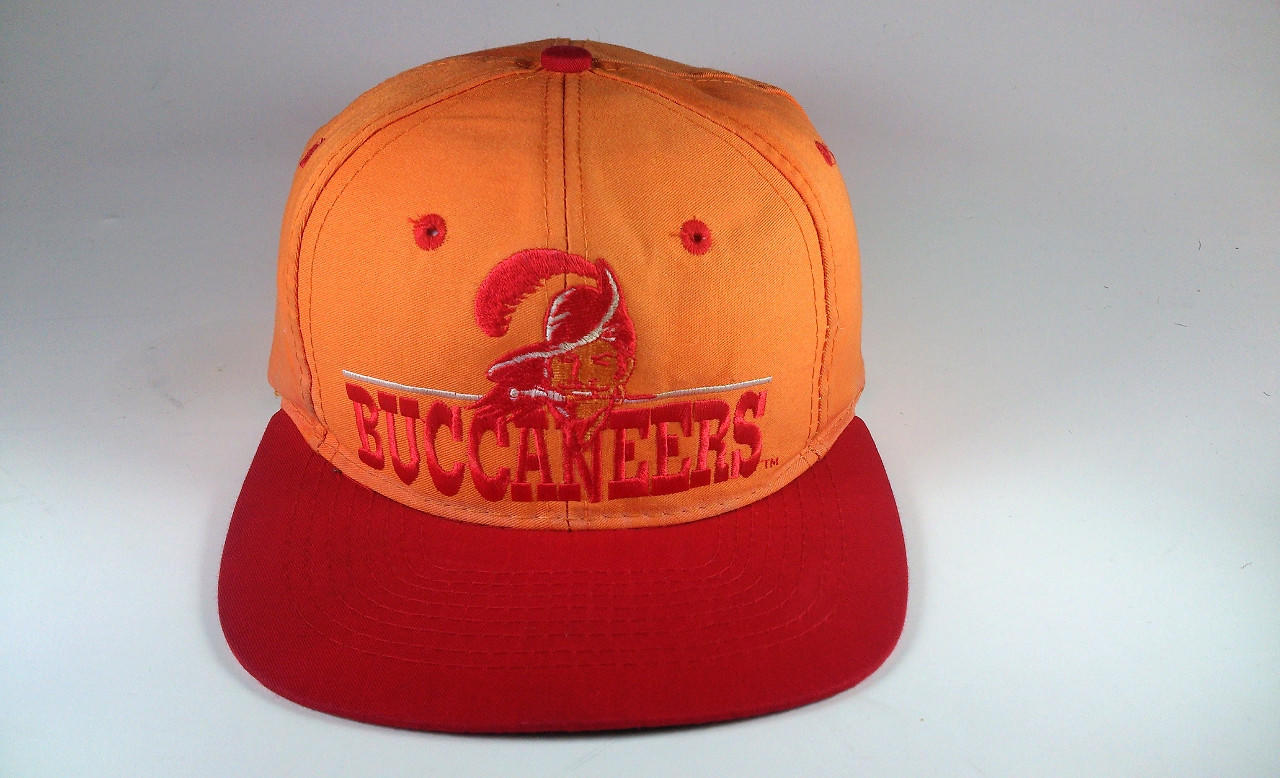 Tampa Bay Buccaneers Vintage Snapback Hat From Dead Stock Hats