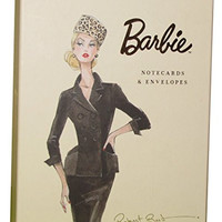 Barbie Vintage Style Notecards and Envelopes, Box of 20 (BM1171)