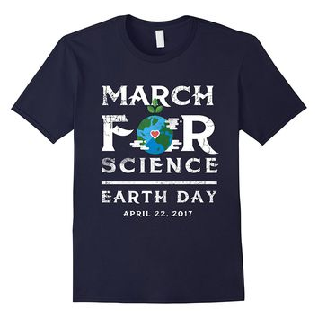 March For Science Tshirt Tee Scientists Earth Day 2017 April