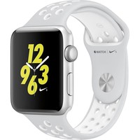Apple Watch Nike+ 38mm Silver Aluminum Case Pure Platinum/White Nike Sport Band