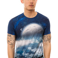Imaginary Foundation Tee Moonrise in Multi