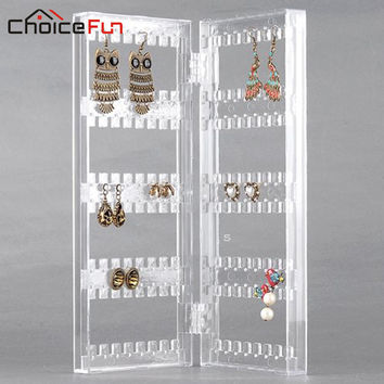 Earring Necklace Jewelry Bracelet Holder Clear Acrylic Jewelry Storage Holders