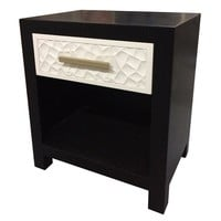 Modern One Drawer Nightstand