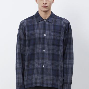 Totokaelo - Our Legacy Dark Tartan Box Shirt - $114.00