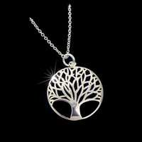 Elegant Tree of Life Pendant Necklace