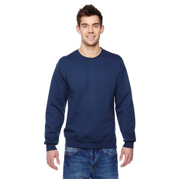 Sofspun Crew-Neck Men's J Navy Sweatshirt