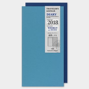 Traveler's Company 2018 Weekly Planner