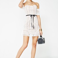 Dakota Lace Mini Dress