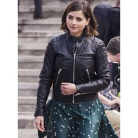 Doctor Who Clara Oswald Leather Jacket