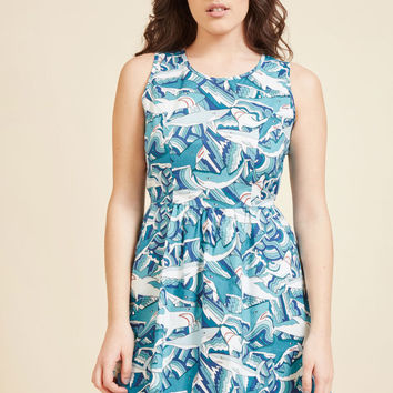 Land Before Sublime A-Line Dress