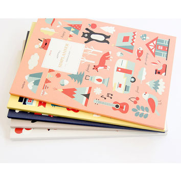 2015 Gunmangzeung Simple light monthly dated planner