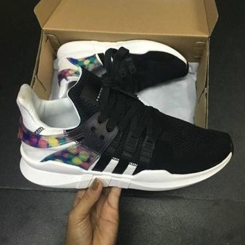 DCCK8X2 Adidas EQT SUPPORT ADV Pride LGBT Men's and women's shoes, casual sports shoes