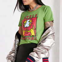 Junk Food Keith Haring Holiday Tee - Urban Outfitters