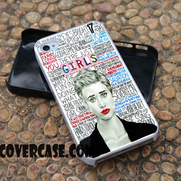 The 1975 Girls Lyric Popular  case for iPhone 4/4S/5/5S/5C/6/6+ case,samsung S3/S4/S5 case,samsung note 3/4 Case