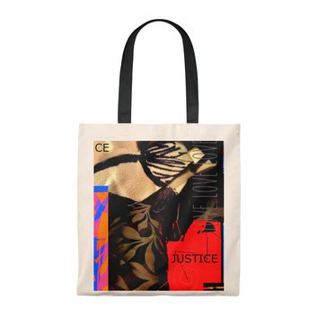 Love and Justice 2 Tote Bag - Vintage