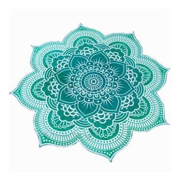 Lutos Tapestry Wall Hanging Bedspread Beach Pool Shower Towel Yoga Mat Ethnic Throw Art  4 Colors Choice