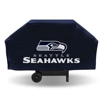 Seattle Seahawks NFL Economy Barbeque Grill Cover