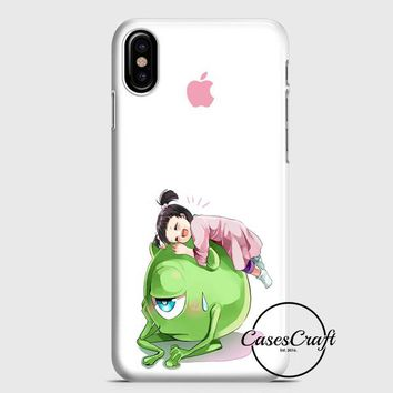 Monster Inc Cute Mike And Boo iPhone X Case | casescraft