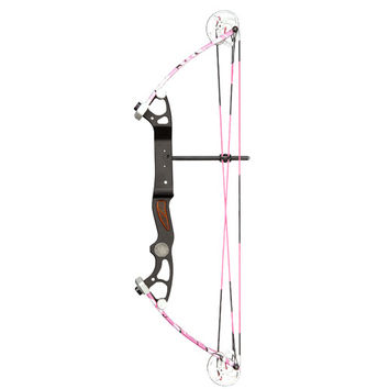 Alpine Rookie Bow 10-35lb 17-23in Pink Camo LH BO-48231