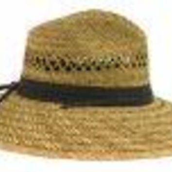 Dorfman Pacific TM388 Men's Safari Shape Summer Straw Hat Assortment