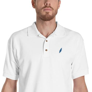 GD Bolt 13-Points Embroidered Polo Shirt