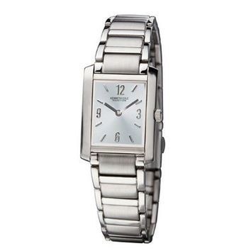 Kenneth Cole Reaction KC4584 Women's Glacier Blue Dial Silver Stainless Steel Strap Bracelet Watch