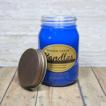 Beach Linen Scented 16 oz. Jar Candle
