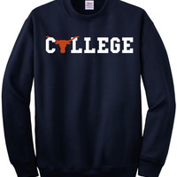 Texas Longhorns College Sweatshirt