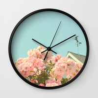 A simple kind of life Wall Clock by RichCaspian