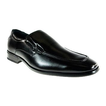 Mens Delli Aldo Office Work Slip On Loafers Shoes 18576 Black-85