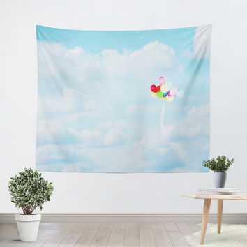 Balloons in the Sky Tapestry