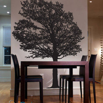 Vinyl Wall Decal Sticker Large Tree #325
