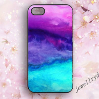 Sky iPhone 5s Case,Colorful Sky 5/5c,WaterColor iphone 4/4s case,Harajuku sky samsung galaxy s3 s4 s5 case,Watercolor Colorfull Sky