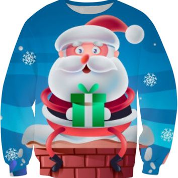 ROSS Santa Soon Sweatshirt