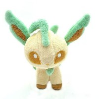 "5"" Pokemon Leafeon Plush Doll ~NEW~"