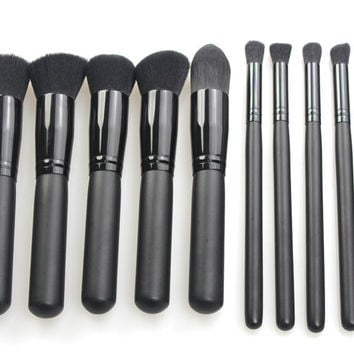 Beauty Hot Deal On Sale Make-up Hot Sale Tools 10-pcs Make-up Brush [9647071375]