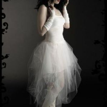 Ambroisee Custom Gothic Faerie Wedding Gown in Black