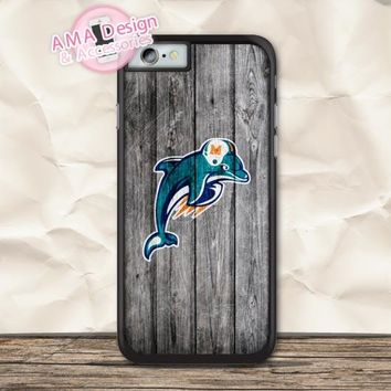Miami Dolphins Football Case For iPhone X 8 7 6 6s Plus 5 5s SE 5c 4 4s For iPod Touch