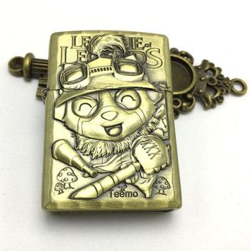 Game League Of Legends Vintage Character Lighter - Teemo