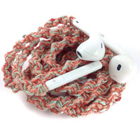 Summer Breeze MyBuds Wrapped Headphones Tangle Free Earbuds Your Choice of Headphones